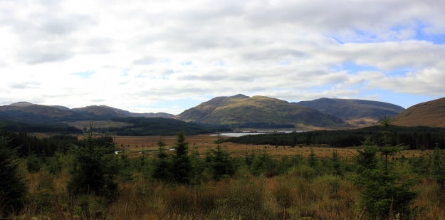 view back towards Loch Dee